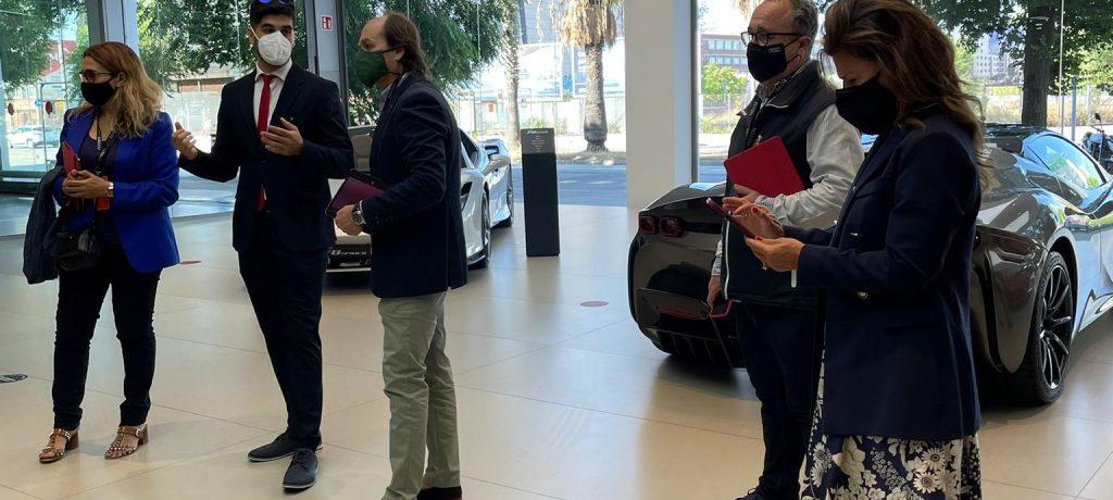 Visita Ferrari Static RoadSHow